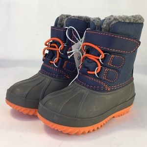 Cat & Jack sz 4 NEW Snow Winter Boot Thermolite